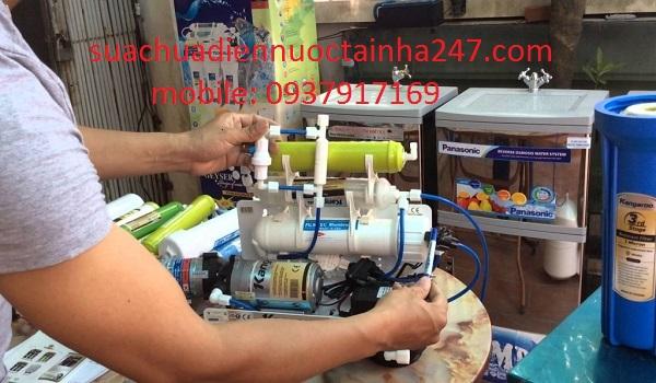 Sửa chữa máy lọc nước rò rỉ điện và chập cháy