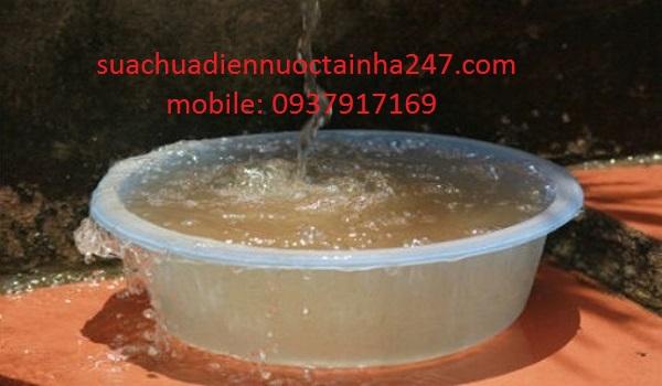 Biện pháp xử lý nguồn nước bị nhiễm phèn