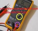 Cách kiểm tra dây điện tường âm bằng đồng hồ vạn năng